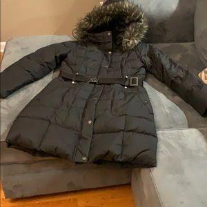 DKNY black winter coat